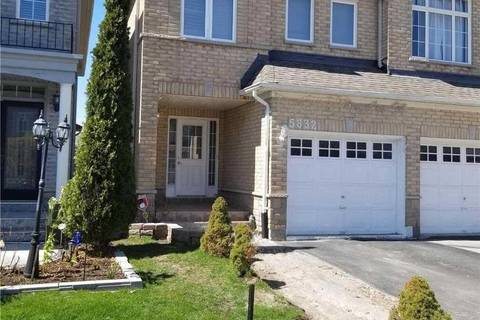 Townhouse for sale at 5832 Raftsman Cove  Mississauga Ontario - MLS: W4453444