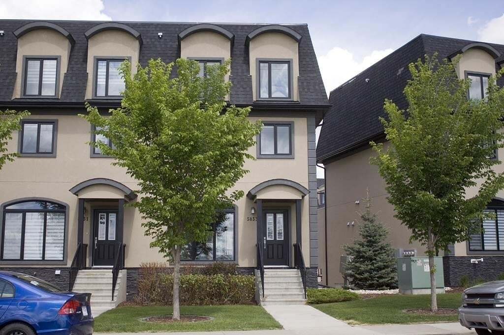 Townhouse for sale at 5833 Mullen Pl NW Edmonton Alberta - MLS: E4201778