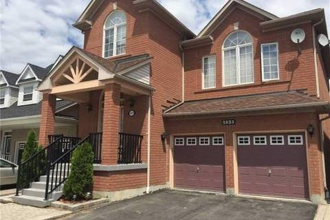 House for rent at 5833 Whitehorn Ave Mississauga Ontario - MLS: W4698676