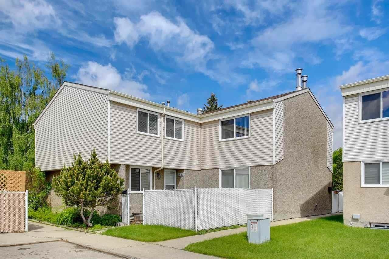 Townhouse for sale at 5837 Riverbend Rd NW Edmonton Alberta - MLS: E4202774