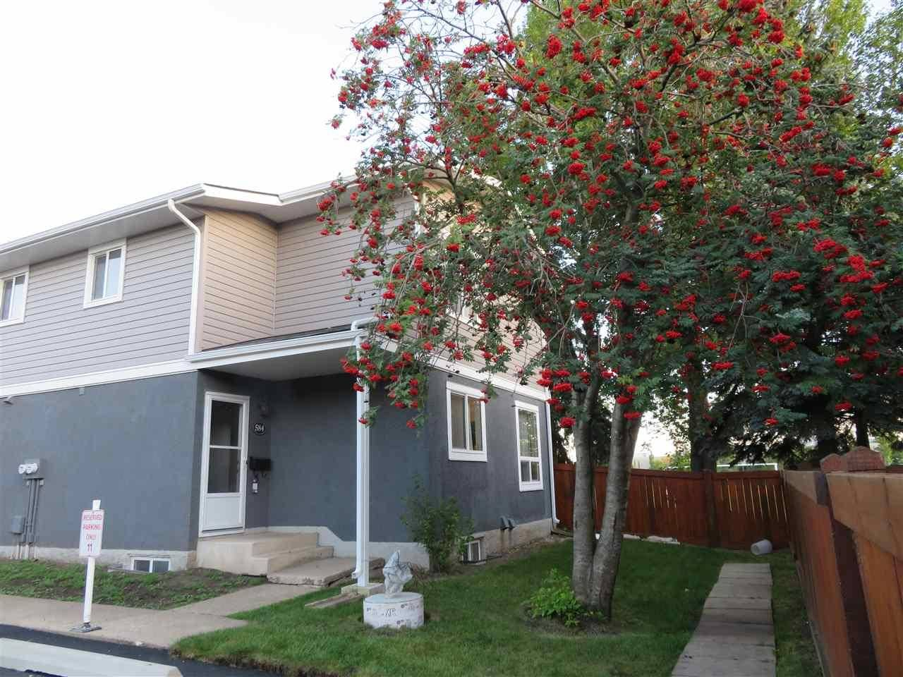 Townhouse for sale at 584 Lakewood Rd Nw Edmonton Alberta - MLS: E4173519