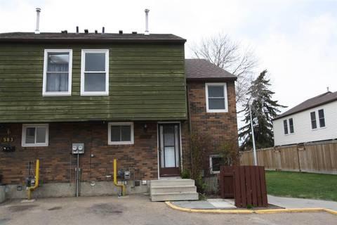 Townhouse for sale at 585 Abbottsfield Rd Nw Edmonton Alberta - MLS: E4156095