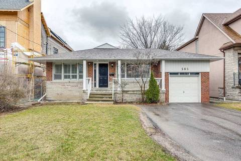 House for sale at 585 Old Orchard Grve Toronto Ontario - MLS: C4735339
