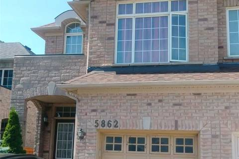 Townhouse for sale at 5862 Raftsman Cove Dr Mississauga Ontario - MLS: W4501144