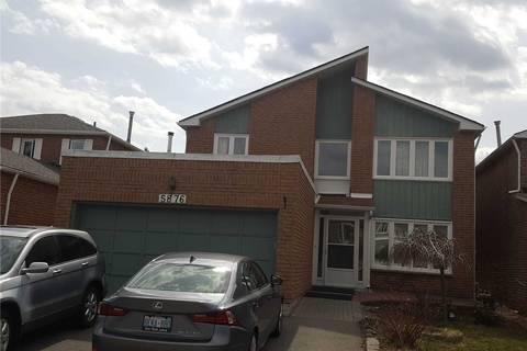 House for rent at 5876 River Grove Ave Mississauga Ontario - MLS: W4645681