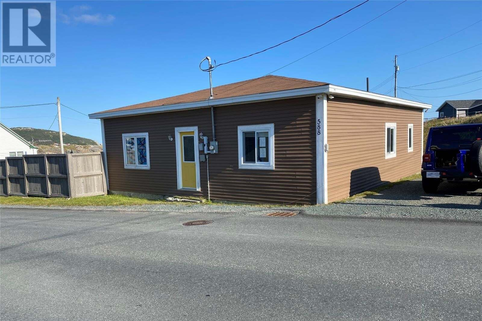 House for sale at 588 Main Rd Pouch Cove Newfoundland - MLS: 1222472