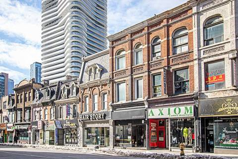 Commercial property for lease at 588 Yonge St Toronto Ontario - MLS: C4382951