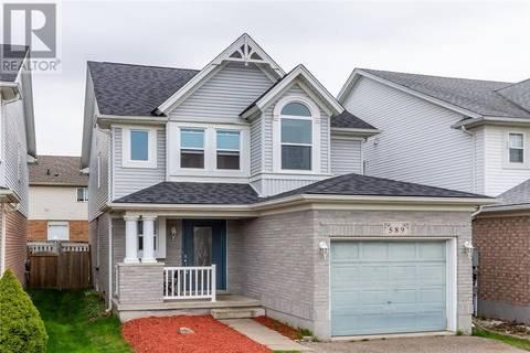 House for sale at 589 Bonavista Dr Waterloo Ontario - MLS: 30735911