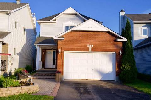 House for sale at 589 Deancourt Cres Ottawa Ontario - MLS: 1155851