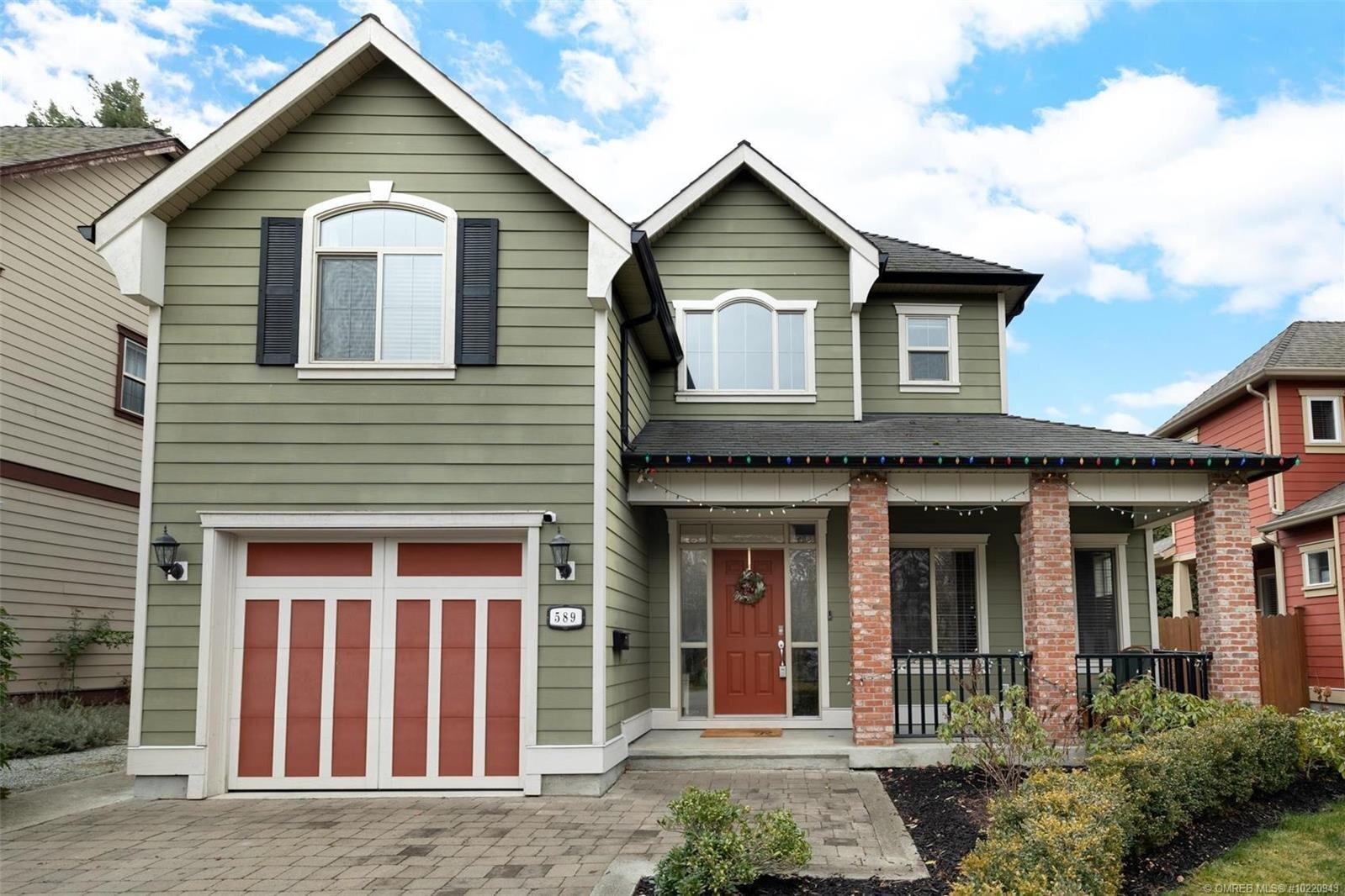 House for sale at 589 Elliot Ave Kelowna British Columbia - MLS: 10220943
