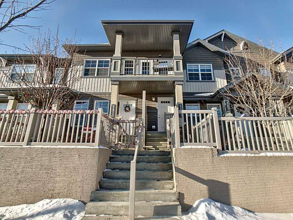 Townhouse for sale at 589 Orchards Blvd Sw Edmonton Alberta - MLS: E4184881