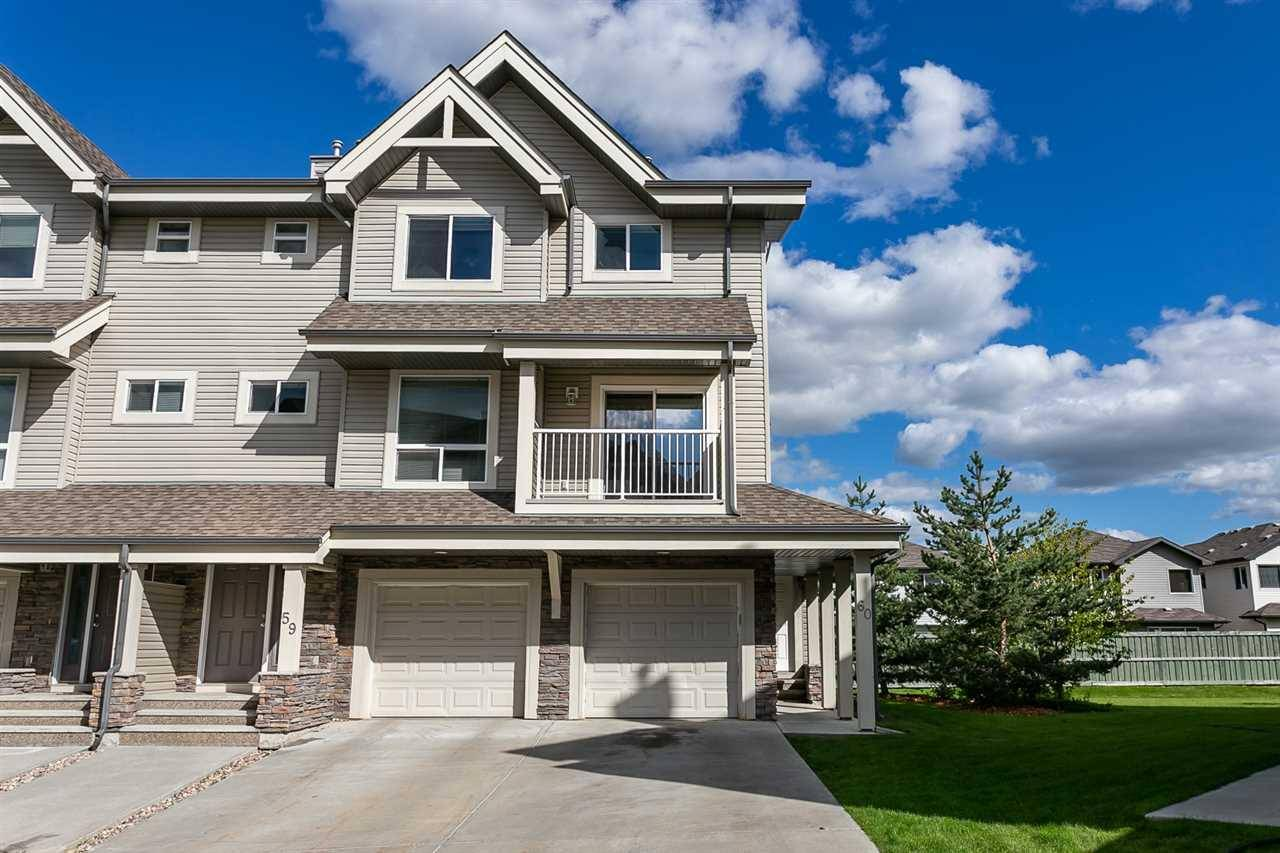 Townhouse for sale at 12050 17 Ave Sw Unit 59 Edmonton Alberta - MLS: E4171882