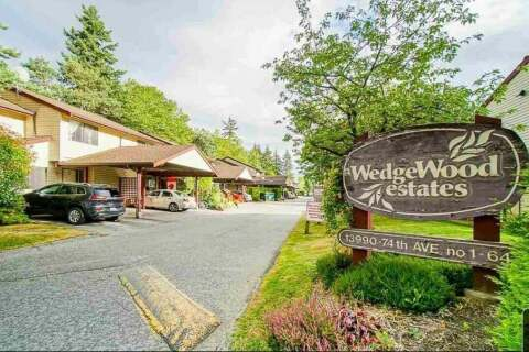 Townhouse for sale at 13990 74 Ave Unit 59 Surrey British Columbia - MLS: R2485689