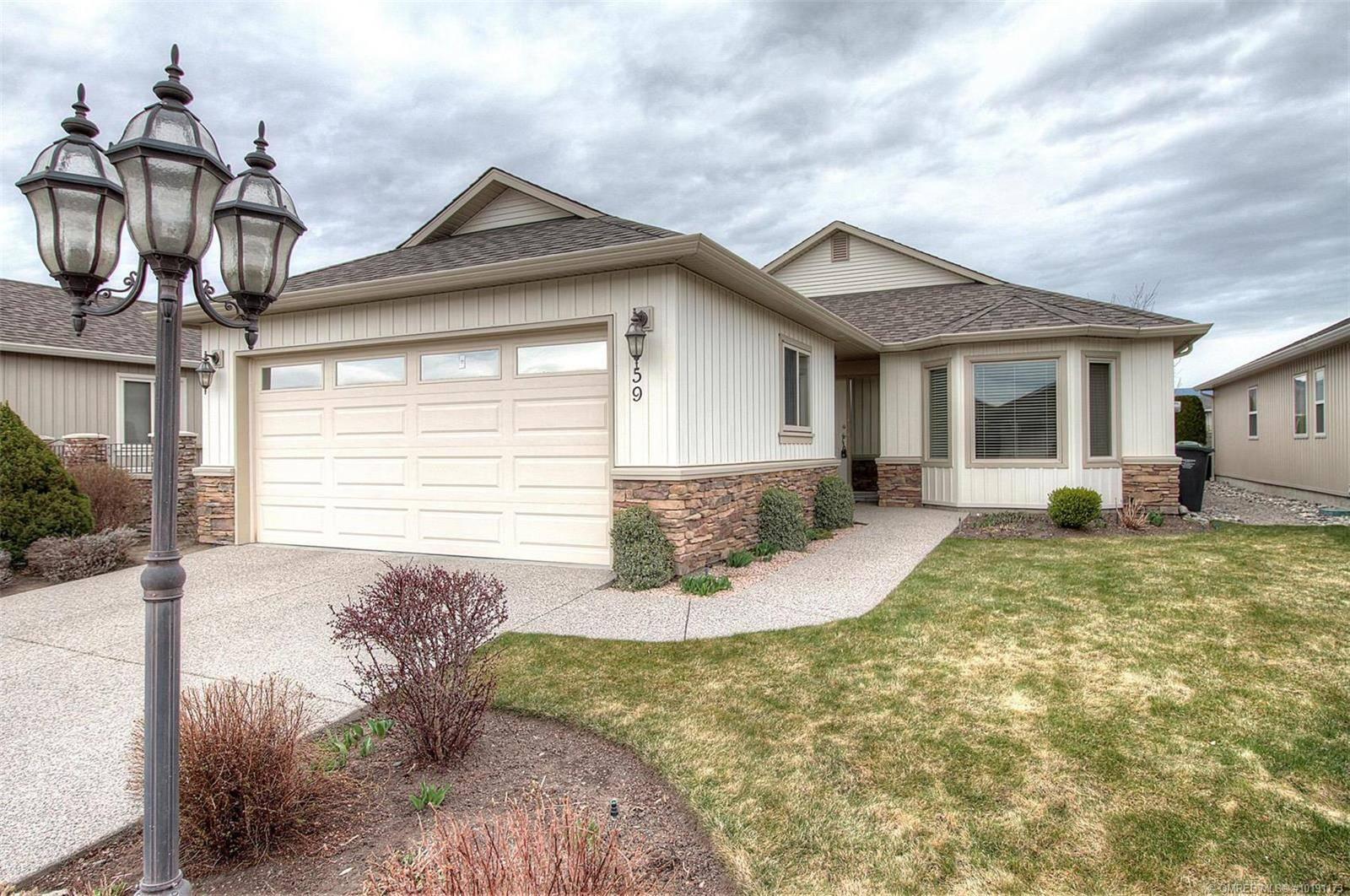 Townhouse for sale at 2365 Stillingfleet Rd Unit 59 Kelowna British Columbia - MLS: 10191173