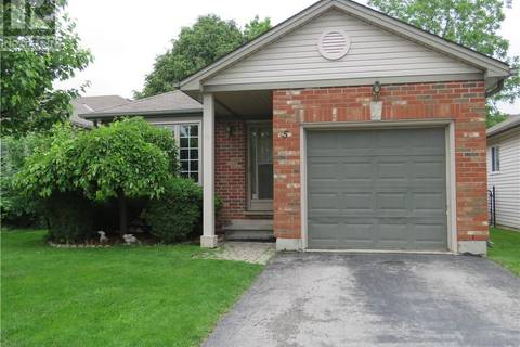 House for sale at 5 Pennybrook Cres Unit 59 London Ontario - MLS: 202775