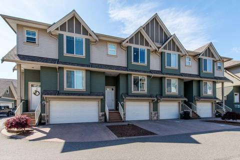 Townhouse for sale at 6498 Southdowne Pl Unit 59 Sardis British Columbia - MLS: R2366233