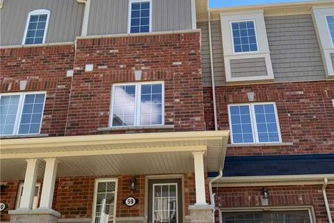 Townhouse for sale at 88 Decorso Dr Unit 59 Guelph Ontario - MLS: X4523985