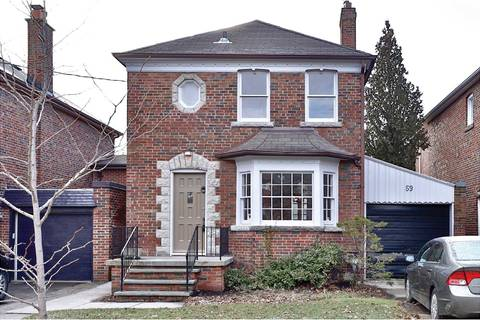House for sale at 59 Donlea Dr Toronto Ontario - MLS: C4671515