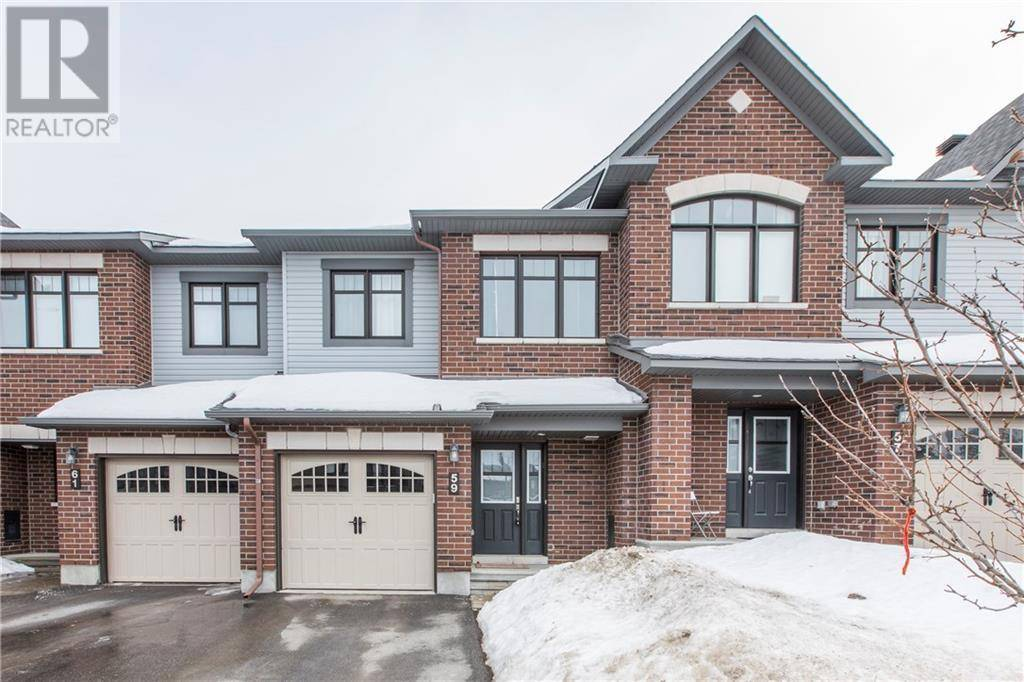 Townhouse for sale at 59 Fallengale Cres Ottawa Ontario - MLS: 1183792