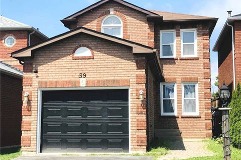 House for sale at 59 Fieldnest Cres Whitby Ontario - MLS: E4552249
