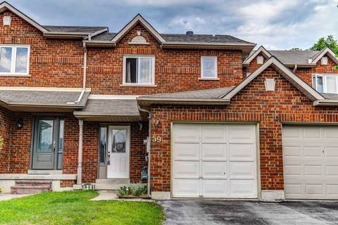 Townhouse for sale at 59 Fulton Cres Whitby Ontario - MLS: E4545377