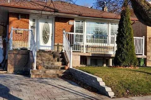 House for rent at 59 Grassington Cres Toronto Ontario - MLS: E4649632