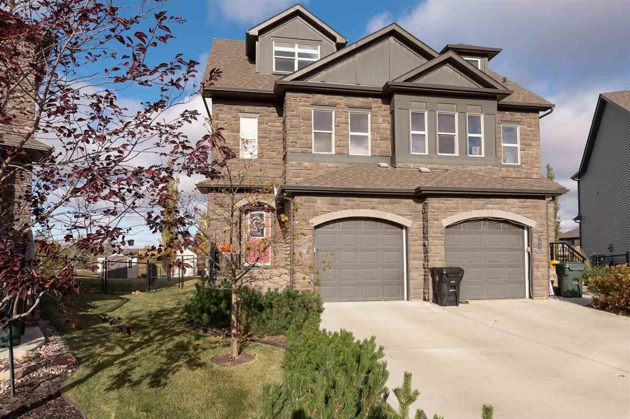 Townhouse for sale at 59 Greenbury Cr Spruce Grove Alberta - MLS: E4218039