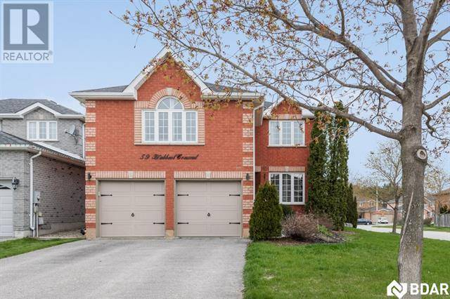 House for sale at 59 Hubbert Cres Barrie Ontario - MLS: 30735054