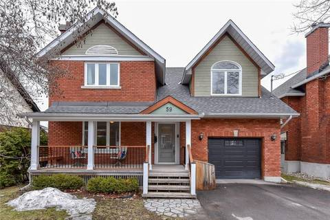 House for sale at 59 Marlowe Cres Ottawa Ontario - MLS: 1147135