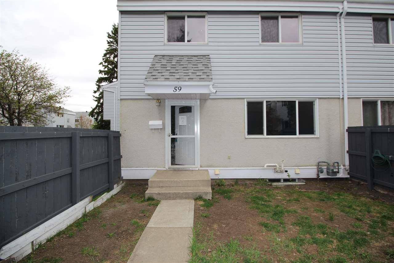 Townhouse for sale at 59 Mcleod Pl Nw Edmonton Alberta - MLS: E4174680