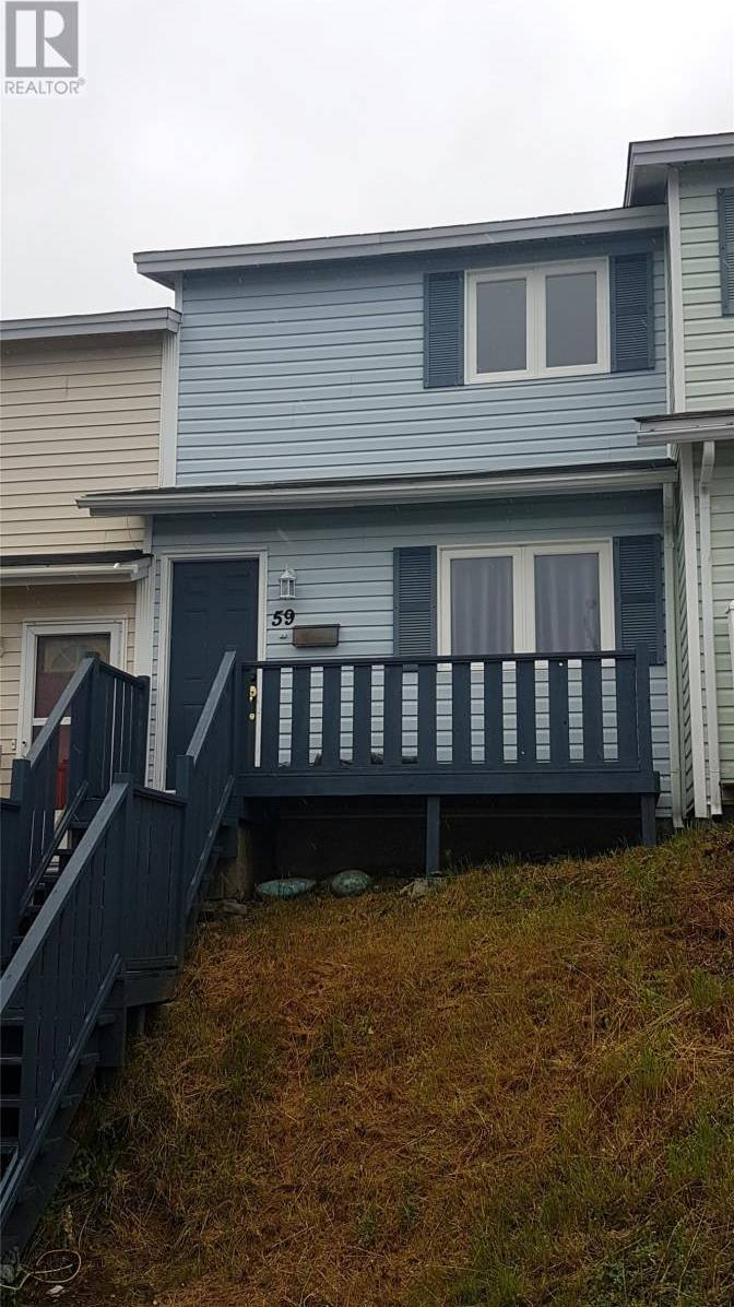 House for sale at 59 Nash Cres Mount Pearl Newfoundland - MLS: 1193131