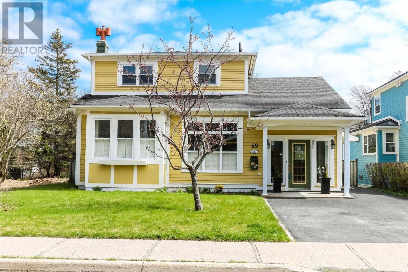 House for sale at 59 Poplar Ave St. John's Newfoundland - MLS: 1214229