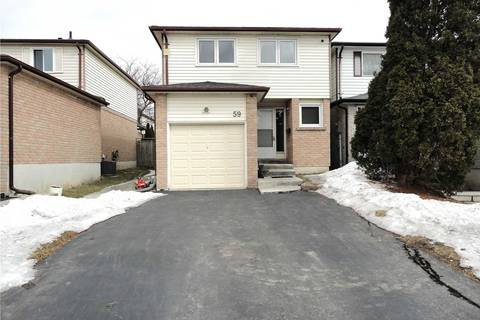 Residential property for sale at 59 Raleigh Cres Markham Ontario - MLS: N4384841