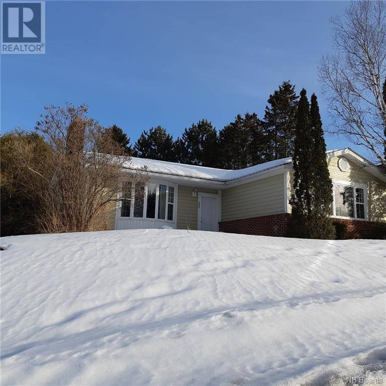 House for sale at 59 Snowball Cres Nackawic New Brunswick - MLS: NB041747