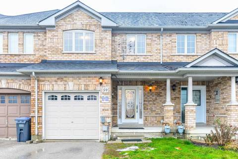 Townhouse for sale at 59 Timbertop Cres Brampton Ontario - MLS: W4387422