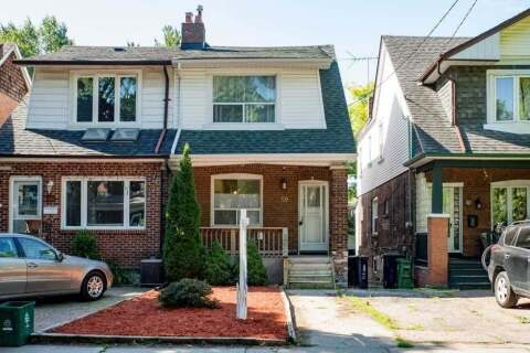 Townhouse for sale at 59 Wolverleigh Blvd Toronto Ontario - MLS: E4810225