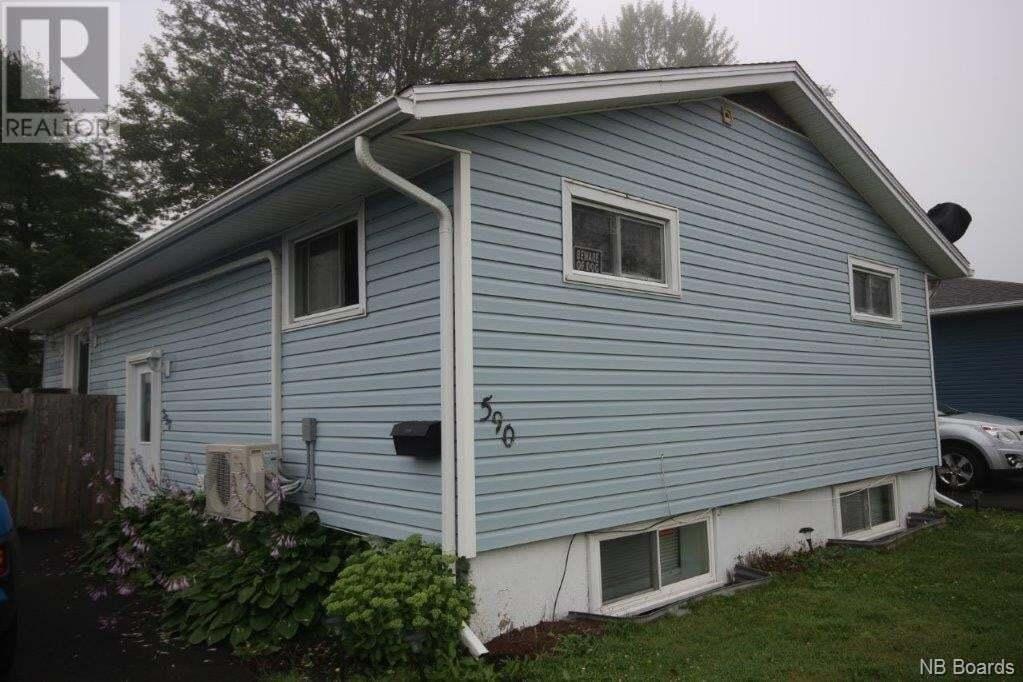 House for sale at 590 Michael Cres Saint John New Brunswick - MLS: NB046695