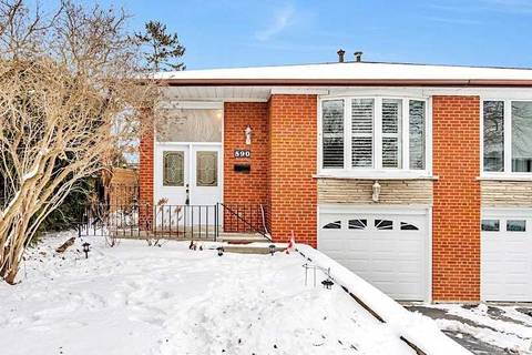 Townhouse for sale at 590 Raphael Ave Mississauga Ontario - MLS: W4381635