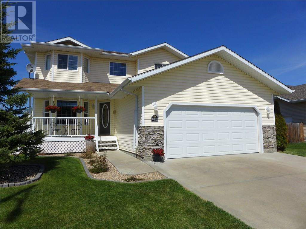 For Sale: 5908 - 28 Avenue , Camrose, AB | 3 Bed, 3 Bath House for $375,000. See 28 photos!