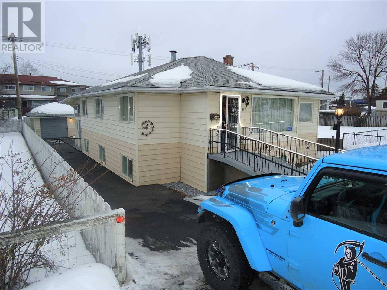 House for sale at 591 Johnson St Prince George British Columbia - MLS: R2432709