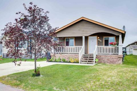 Residential property for sale at 5914 Fontaine Dr Cold Lake Alberta - MLS: E4123911