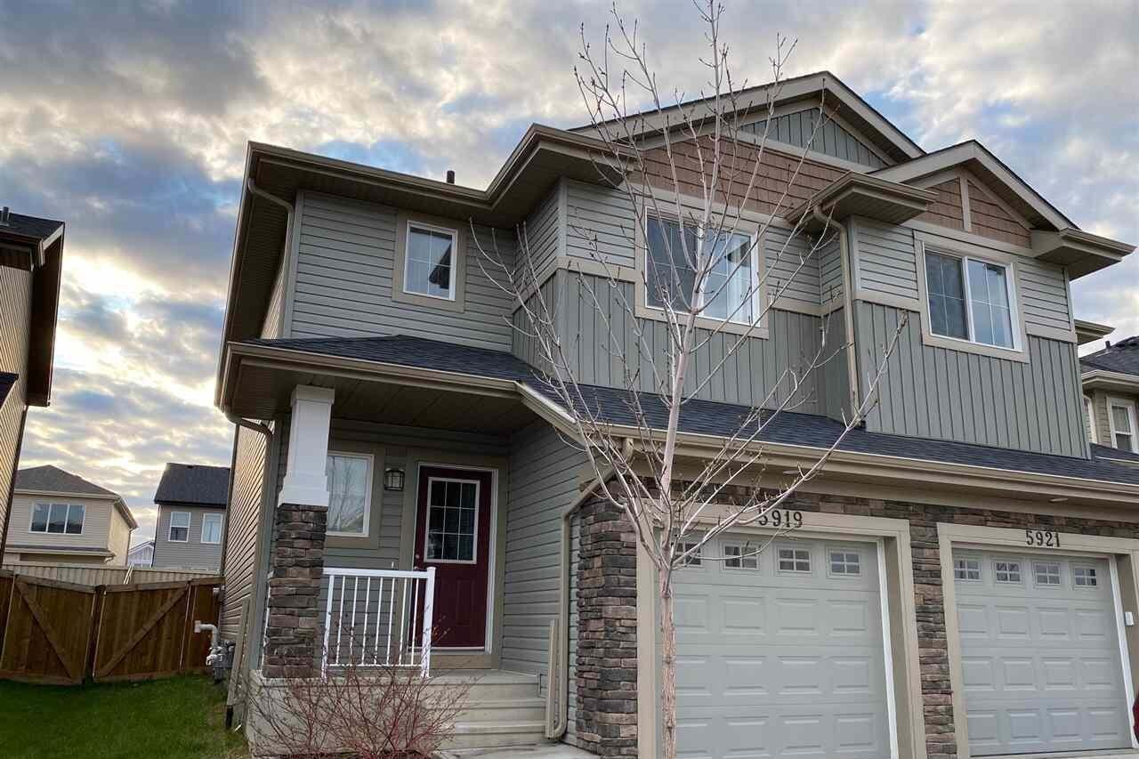 Townhouse for sale at 5919 Anthony Cr SW Edmonton Alberta - MLS: E4194091