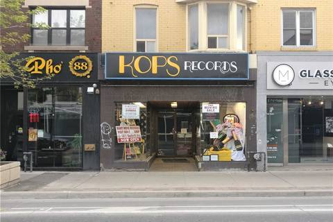 Commercial property for lease at 592 Bloor St Toronto Ontario - MLS: C4583143