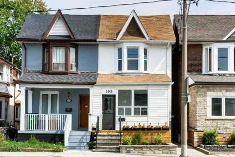 Townhouse for sale at 593 Greenwood Ave Toronto Ontario - MLS: E4910345