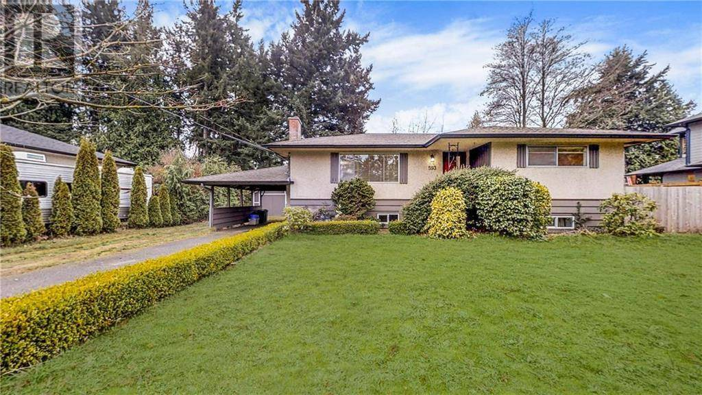 House for sale at 593 Ridley Dr Victoria British Columbia - MLS: 419251