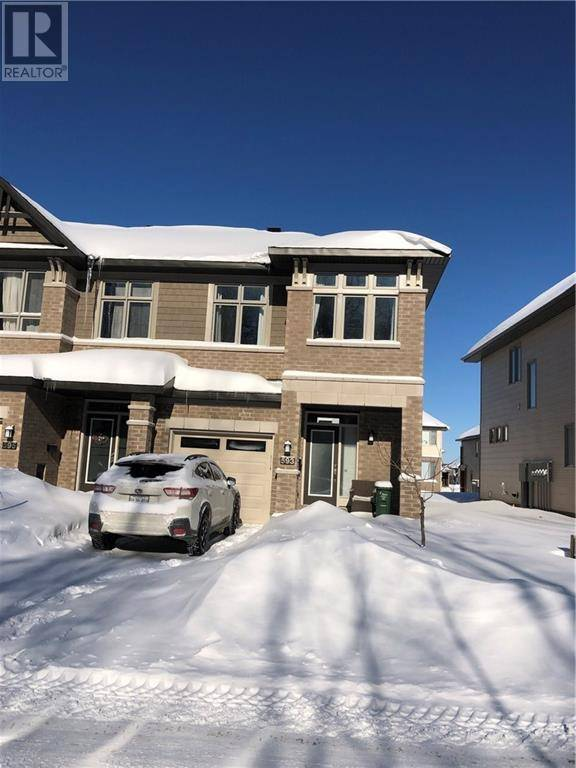 Townhouse for rent at 593 Rowers Wy Ottawa Ontario - MLS: 1182012