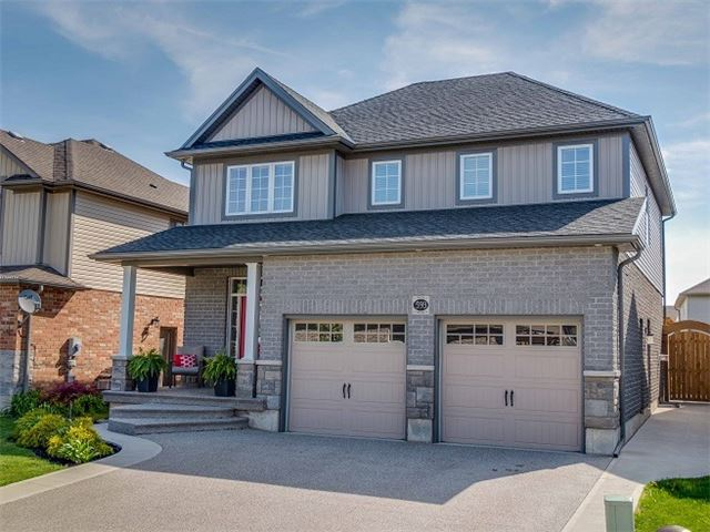 House for sale at 593 Sales Drive Woodstock Ontario - MLS: X4135855