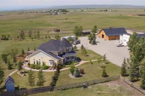 House for sale at 594037 8 St East Rural Foothills County Alberta - MLS: C4246193