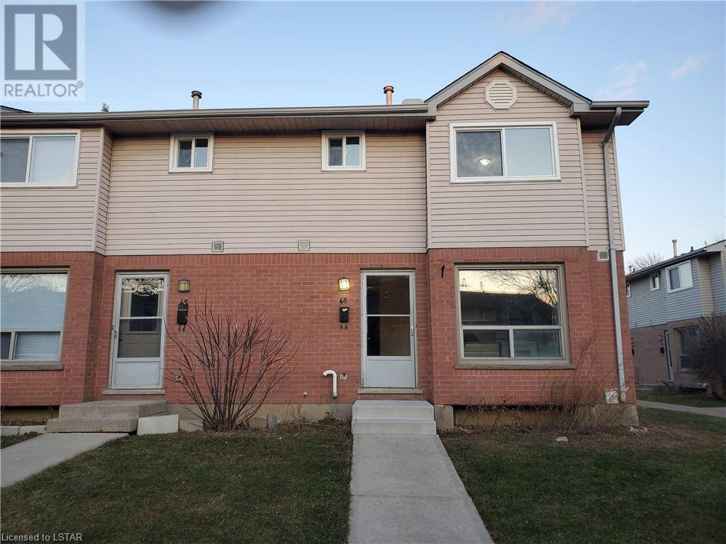 Townhouse for sale at 46 Third St Unit 595 London Ontario - MLS: 237757