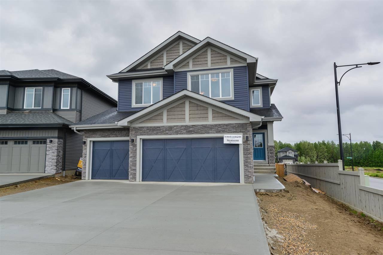 House for sale at 595 Merlin Landng Nw Edmonton Alberta - MLS: E4180916